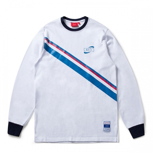 크리틱 스웻셔츠 맨투맨 SOCCER TEAM LONGSLEEVES (OFF WHITE) - CTOSPRL05MC2