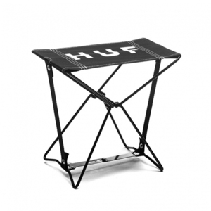 [허프] CAMPOUT CHAIR (BLACK) - HFAC51014BLK [허프 HUF 캠핑의자]