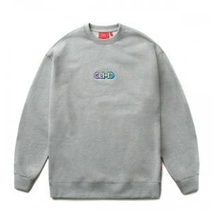 크리틱 스웻셔츠 맨투맨 DONUT LOGO SWEAT SHIRT (C4) - CTOSPCR03UC4