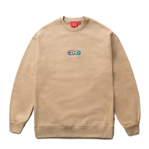 크리틱 스웻셔츠 맨투맨 DONUT LOGO SWEAT SHIRT (E1) - CTOSPCR03UE1